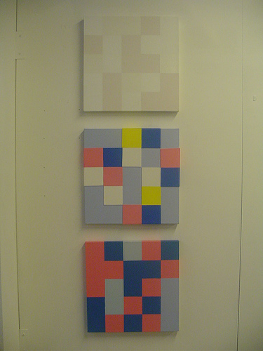 3 Abstract Paintings